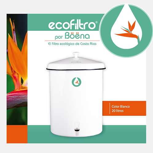 Ecofiltro - Color Blanco