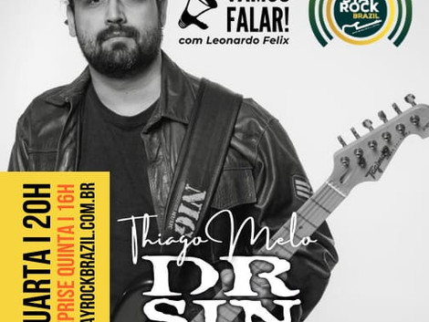 Guitarrista Thiago Melo é o convidado da reestreia do Vamos Falar!
