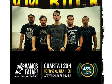 Som alternativo e engajado da VM Rock é destaque no Vamos Falar! desta quarta-feira