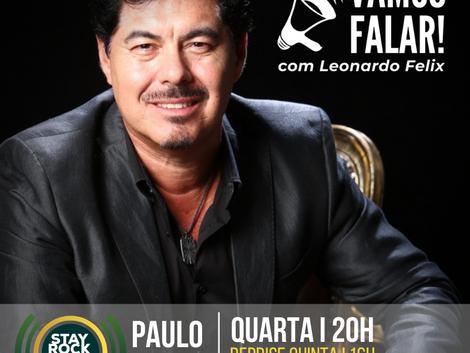 Amor pelo rock e seus bastidores: Paulo Baron marca presença no Vamos Falar!