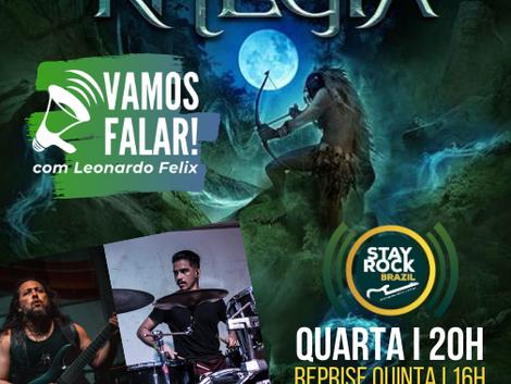 Vamos Falar! | Rhegia mistura heavy metal a lendas e mitos amazônicos