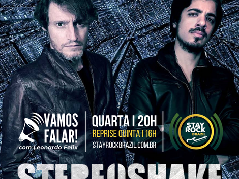 Stereoshake apresenta no Vamos Falar! sua fusão do rock com eletrônico