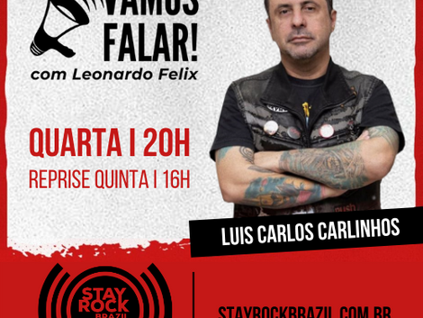 Vamos Falar! | Luis Carlos Carlinhos destaca o underground do rock/metal do RJ