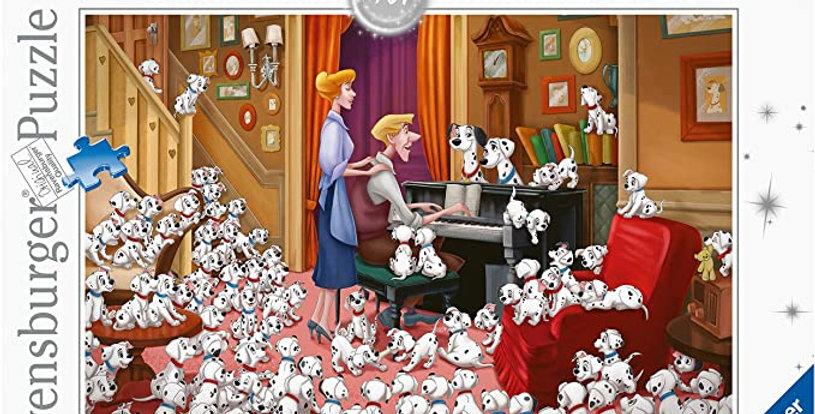 Puzzle 1000 pièces - Les 101 Dalmatiens
