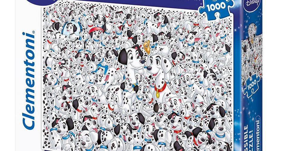 Impossible Puzzle !  1000 pièces (101 Dalmatiens)