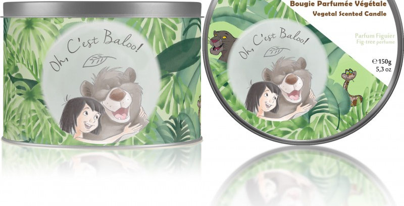 Bougie Francal - Oh, c'est Baloo !