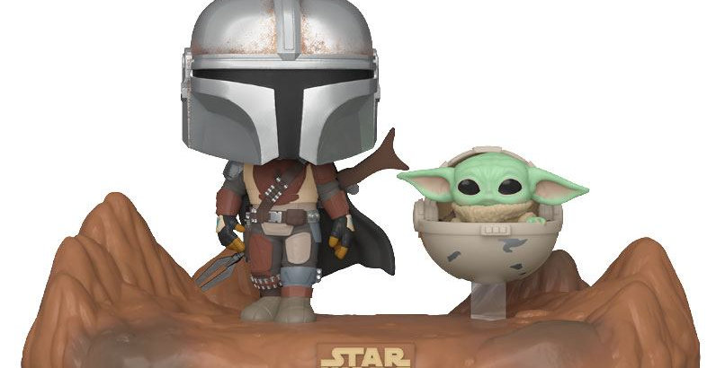 Pop 390 - The Mandalorian with the Child