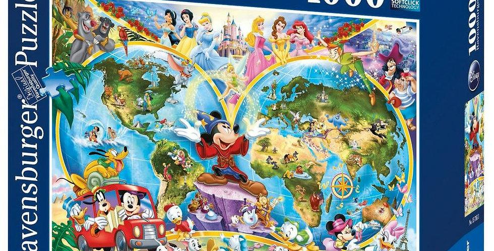 Puzzle 1000 pièces - Le Monde de Disney