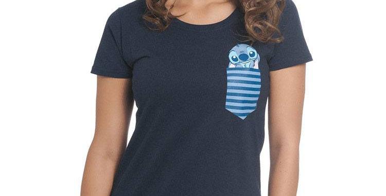T-shirt Dames - Stitch