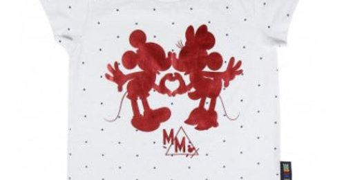T-shirt Filles - Mickey & Minnie