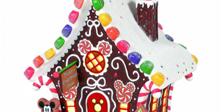 Dpt 56 - Mickey's Gingerbread House