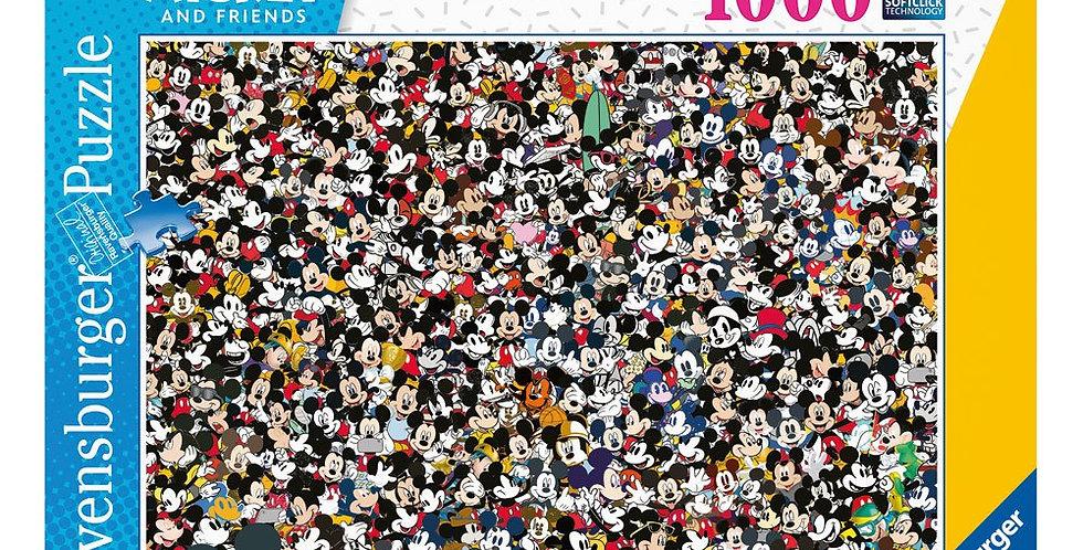 Puzzle 1000 pièces - Challenge Mickey