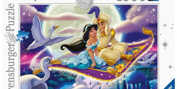 Puzzle 1000 pièces - Aladdin