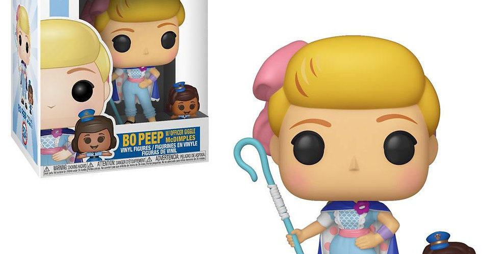 Pop 524 - Bo Peep with Officer Giggle McDimples