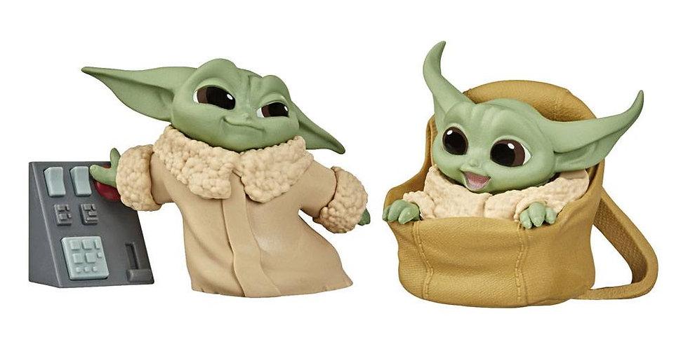 Set de 2 figurines The Child - série 6
