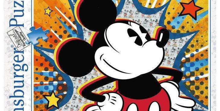 Puzzle 1000 pièces - Rétro Mickey