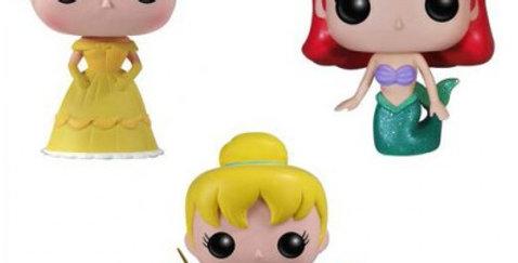 Pop 07 - Pocket Ariel, Belle & Clochette