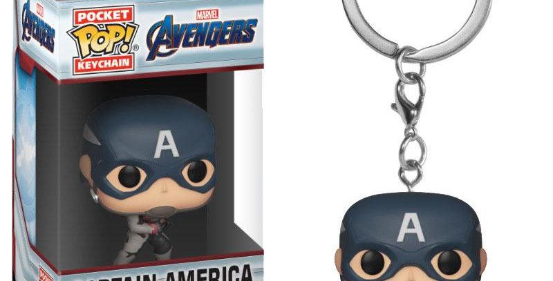 Porte-clés Pop - Captain America