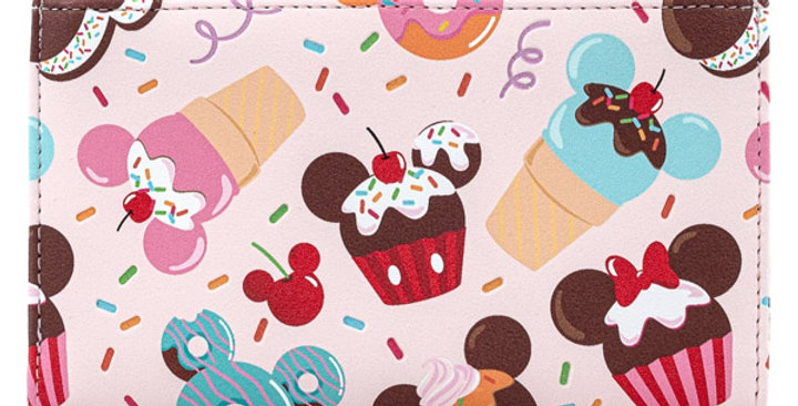 Loungefly - Portefeuille Mickey & Minnie Sweets
