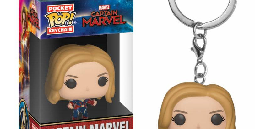 Porte-clés Pop - Captain Marvel