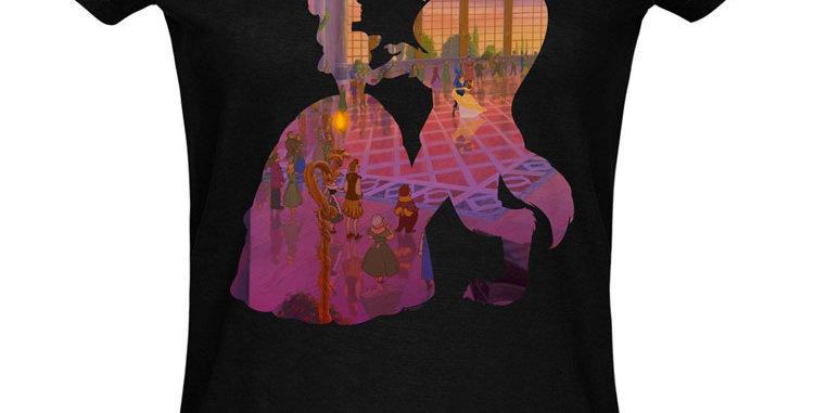 T-shirt Dames - La Belle & La Bête