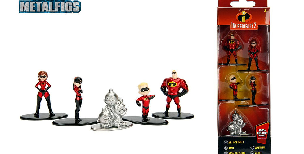 Metalfigs - Set de 5 mini figurines