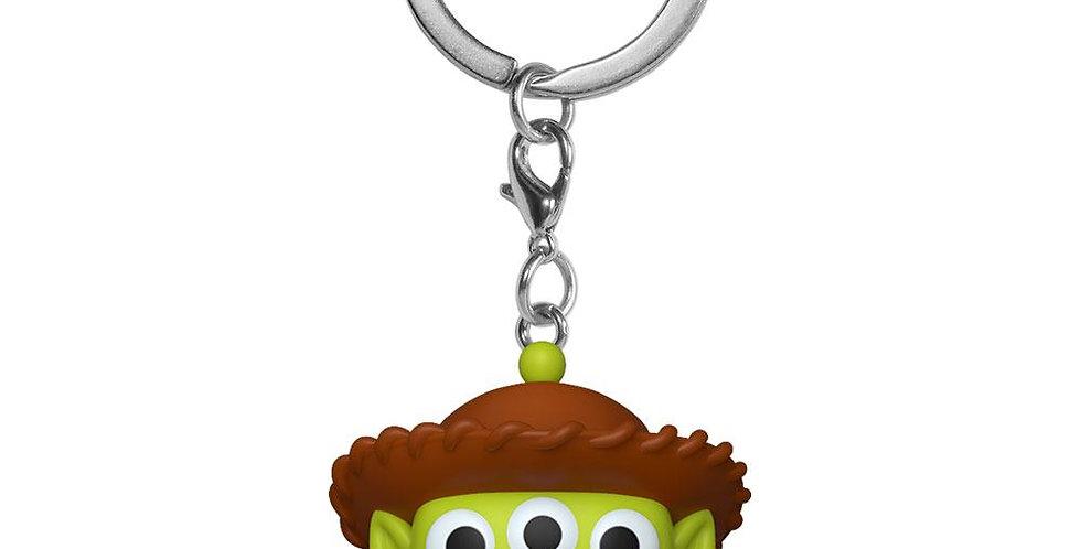 Porte-clés Pop - Alien Remix Woody
