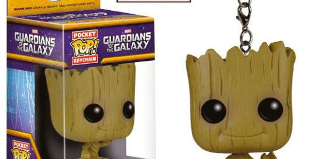 Porte-clés Pop - Dancing Groot