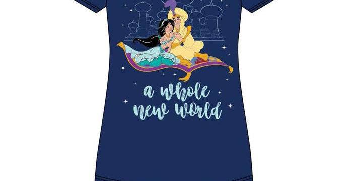 T-shirt Dames - Aladdin & Jasmine