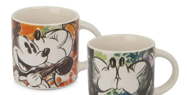 Set de 2 mini-mugs - Mickey & Minnie