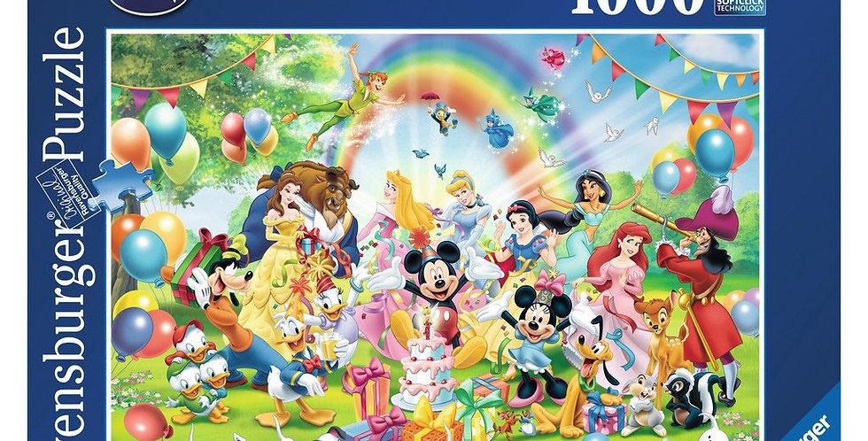 Puzzle 1000 pièces - L'anniversaire de Mickey