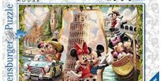 Puzzle 1000 pièces - Vacances Mickey