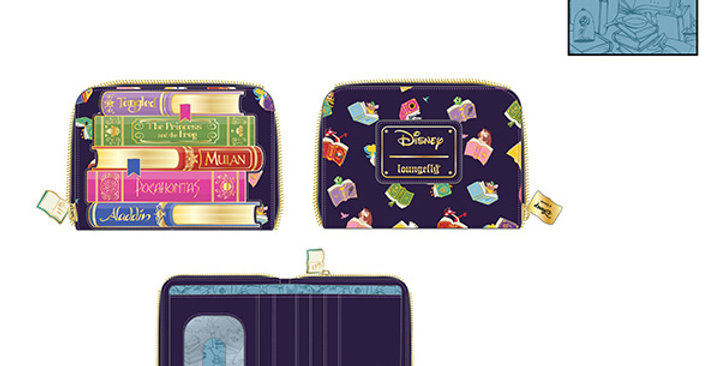 Loungefly - Portefeuille Princess's Books