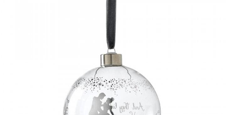 Boule de Noël - Cinderella Wedding