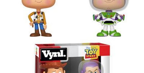 Vynl. - Woody + Buzz Lightyear