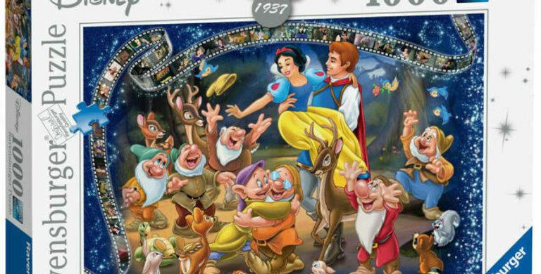 Puzzle 1000 pièces - Blanche-Neige et les 7 Nains
