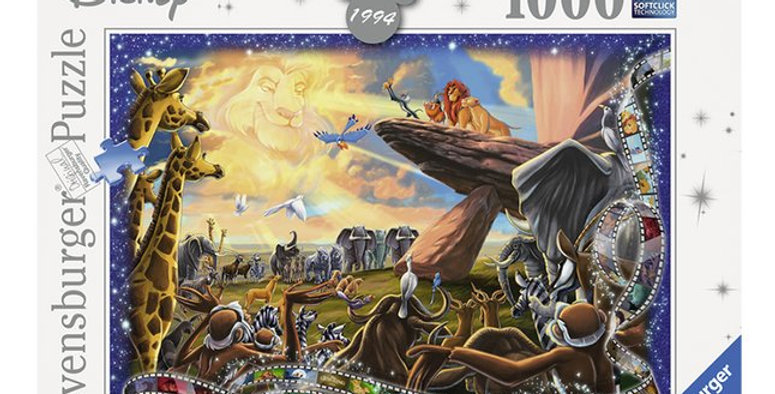 Puzzle 1000 pièces - Le Roi Lion