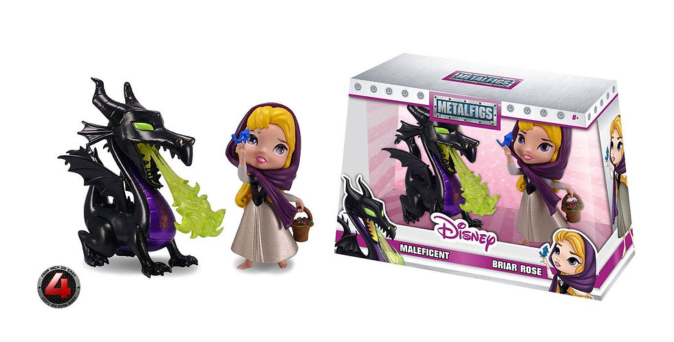 Metalfigs - Maleficent & Briar Rose