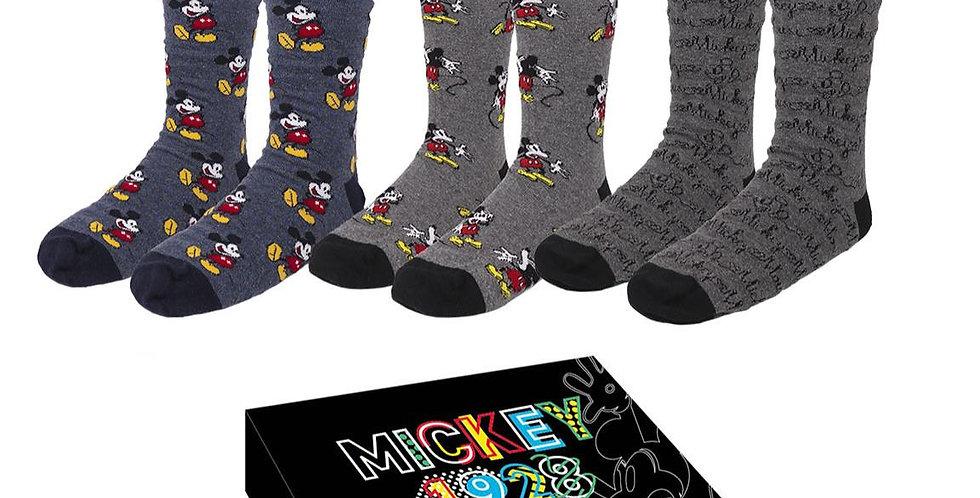 Set de 3 paires de chaussettes Homme - Mickey