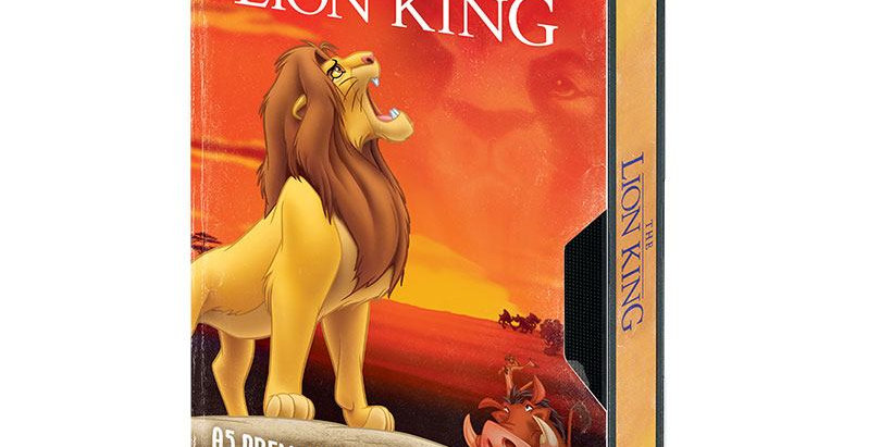 Cahier A5 - VHS Lion King