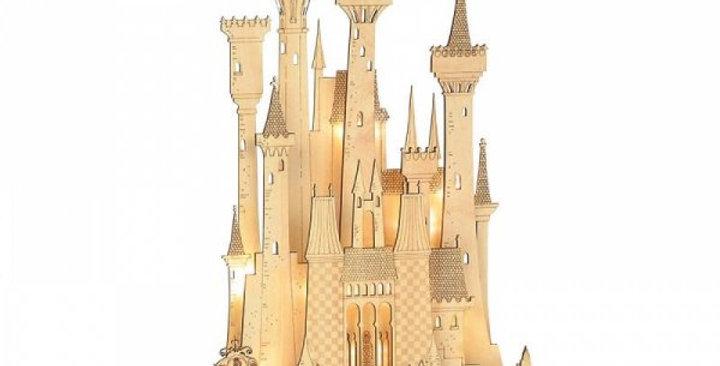Château en bois lumineux - Cendrillon