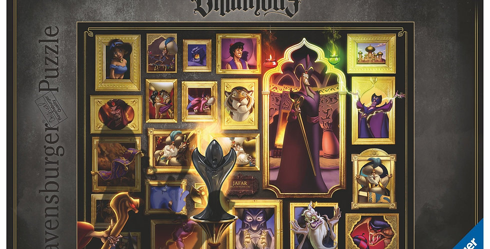 Puzzle 1000 pièces -Villainous Jafar