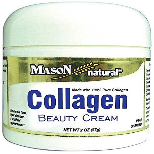 Mason Natural Vitamins Collagen Beauty Cream 100% Pure Collagen Pear Scent
