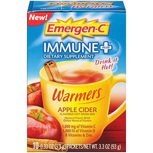 Emergen-C Immune+ Warmers Dietary Supplement
