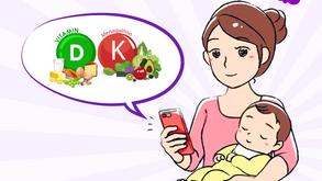 """Giải mã bộ đôi vitamin D3 K2 giúp bé cao lớn đang được các mẹ """"săn lùng"""""""