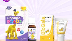Nên bổ sung Vitamin D3, K2 và men vi sinh cho trẻ thế nào?