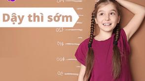 Tăng chiều cao cho trẻ ngay từ nhỏ có sợ dậy thì sớm?