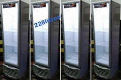 Geladeira porta de vidro 228 litros