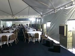 Evento em tendas