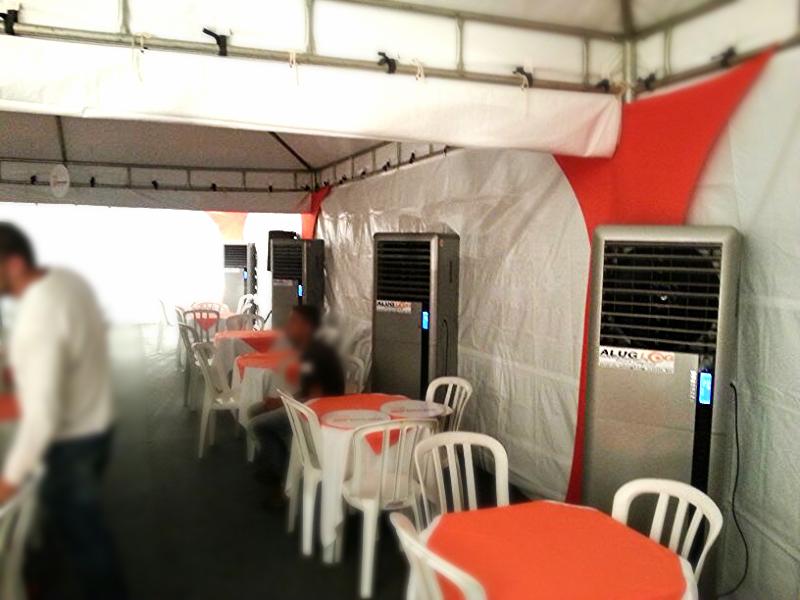 Resfriador Evaporativo 50 m2 (cada)